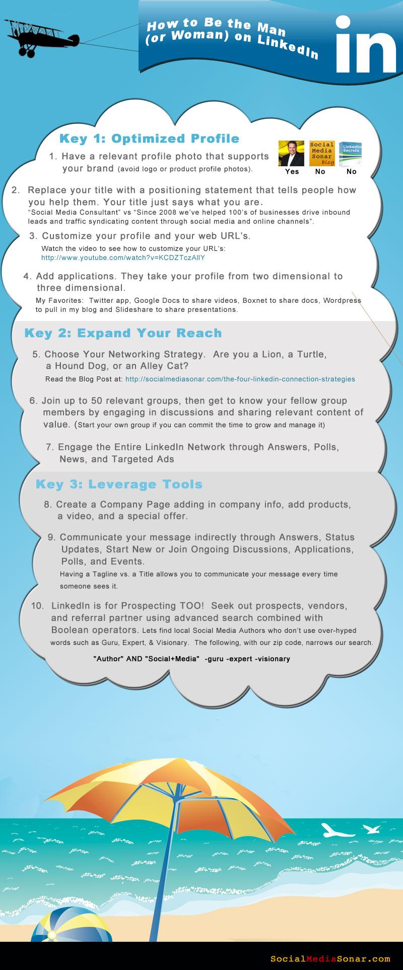 linkedin infographic1 LinkedIn Infographic